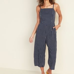 NWT Old Navy Stripe Square-Neck Cami Jumpsuit